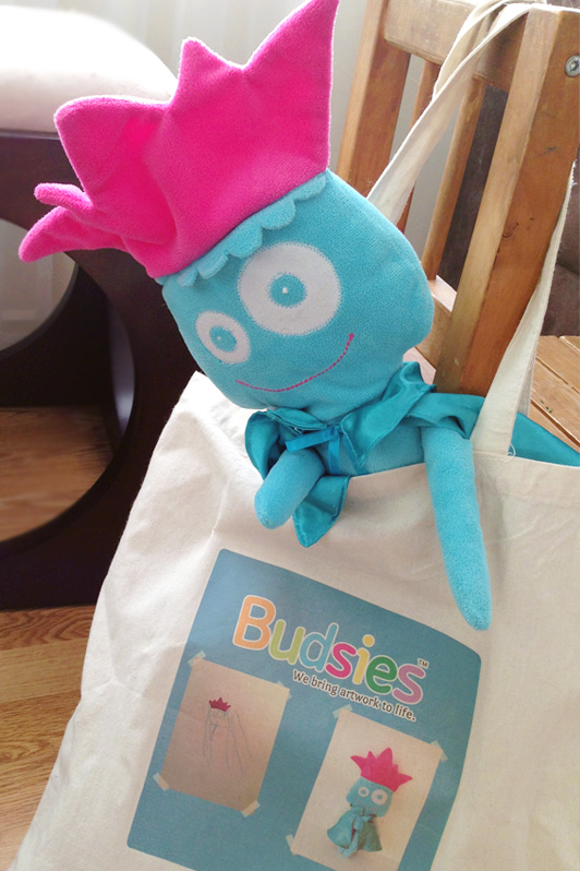 Budsies, custom stuffed animals, plush toys, toddler, drawing, art, mom, creative, blog review
