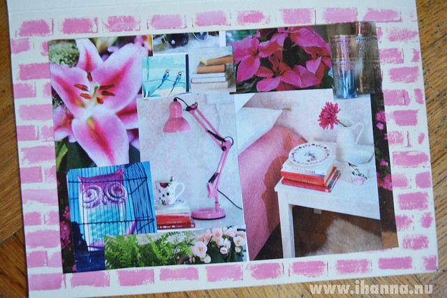 Pink DIY Postcard by Christina