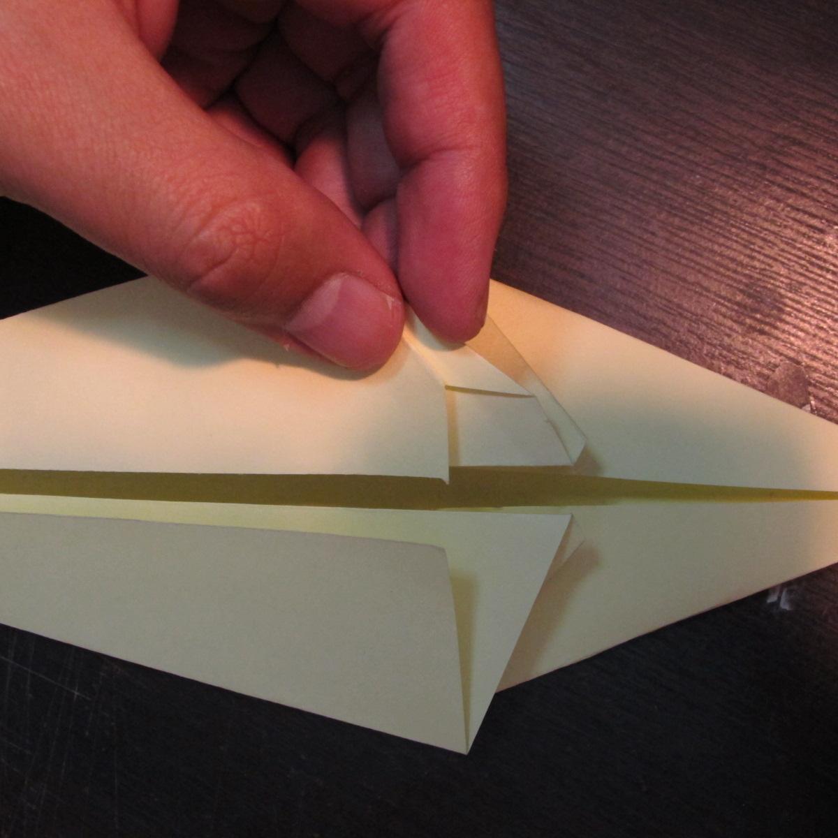 วิธีการพับกระดาษเป็นรูปหงส์ 010