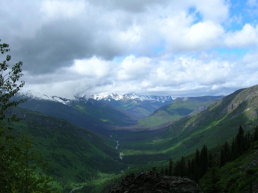 3. Vistas del Parque Nacional Glacier. Autor, Norrisbaby