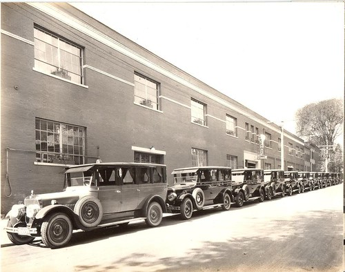albany motor garage - hearses and limousines 1920s lancaster st albany ny