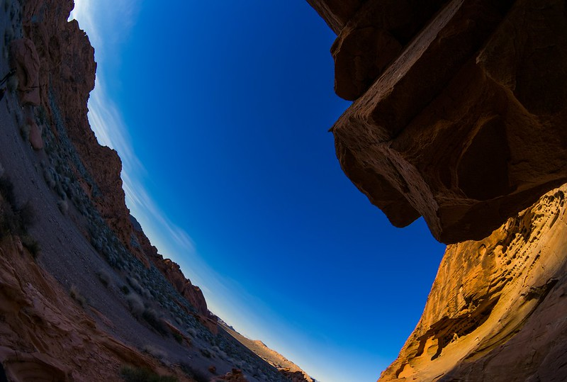 Valley of Fire Nevada State Park Shot with a Samsung 10mm Fisheye Lens