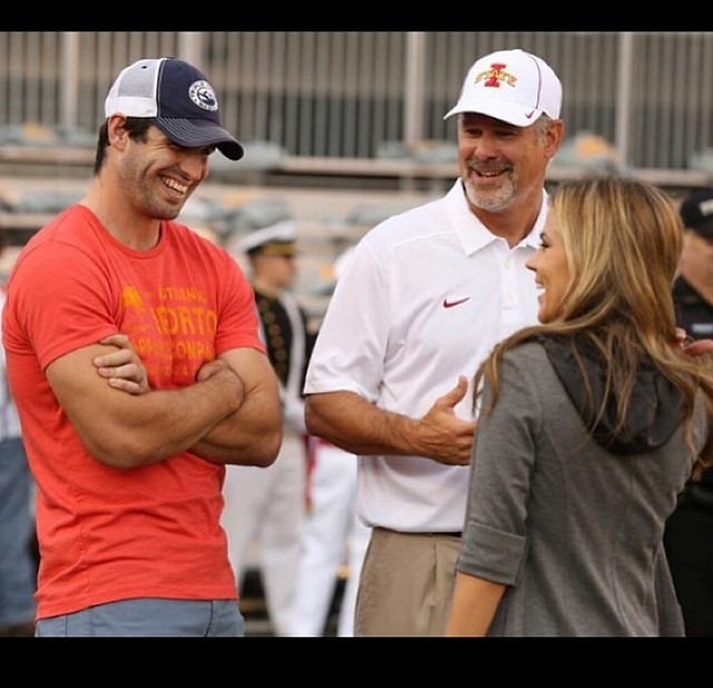 Christian Ponder In Authentic Sportiqe Apparel