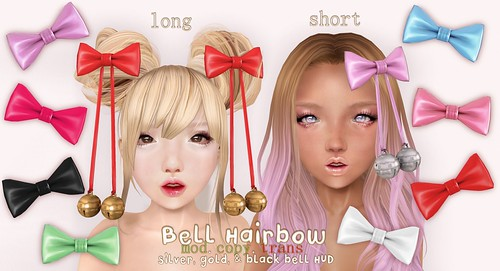 .tsg. Bell Hairbows~ by Eilfie Sugarplum