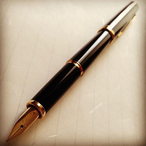 new pen