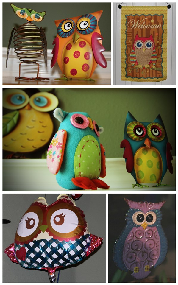 Owl Themed Birthday Party Decor