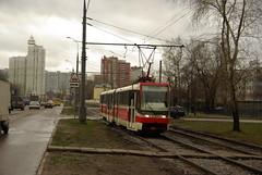 Moscow tram Tatra KT3R 2300