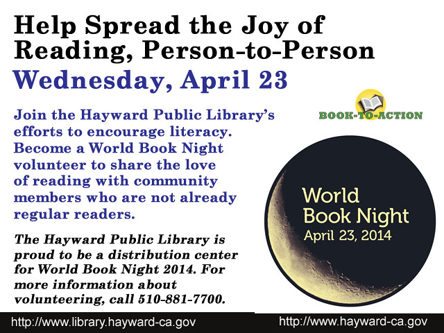 Spread the Love of Reading on World Book Night - Become a Volunteer Now