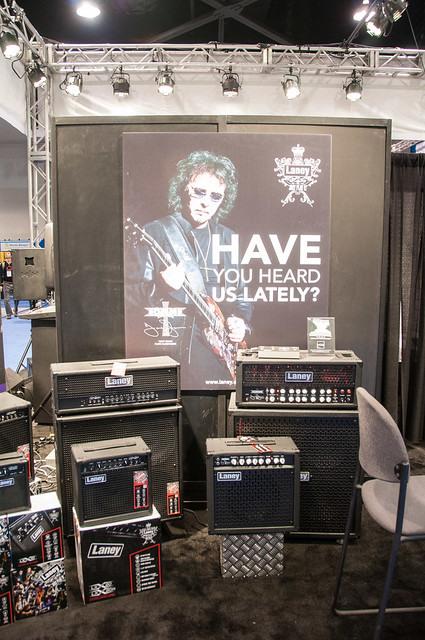 Photo:Laney Amps By ArtBrom