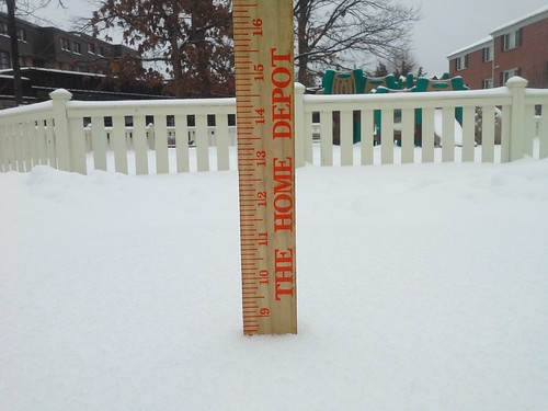 Alexandria, Va. snowfall total at 8:10 a.m. - 8.5 inches