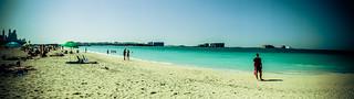 Image of Al Sufouh near Dubai. strand dubai bade unitedarabemirates ferie vand kyst dubai2014 vinterferie2014