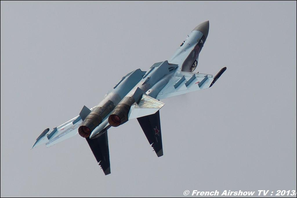 Su-35 Flanker,Salon du Bourget 2013,Paris Airshow 2013