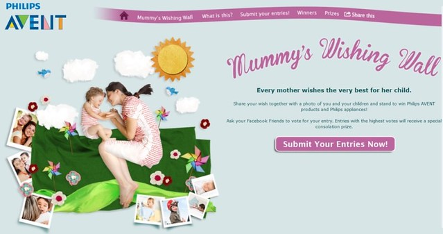 Peraduan Philips Avent Mummy's Wishing Wall