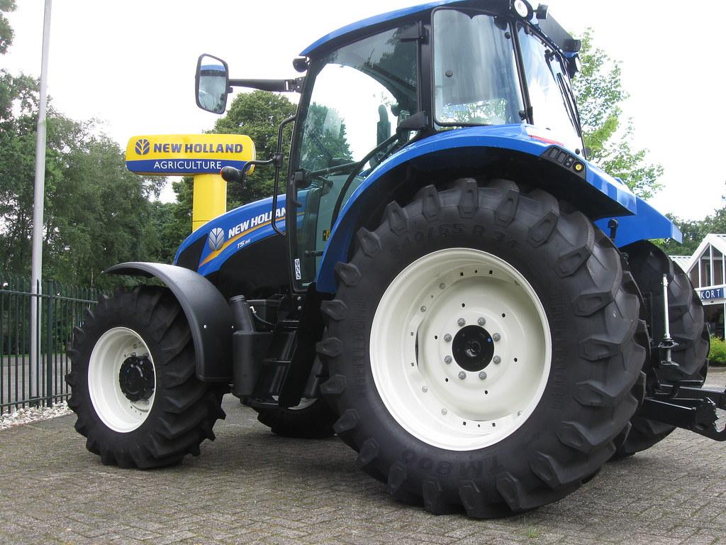 New Holland T5 Serie Www Trelleborg Com Wheelsystems