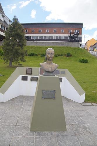 213 Parkje Eva Peron in Ushuaia