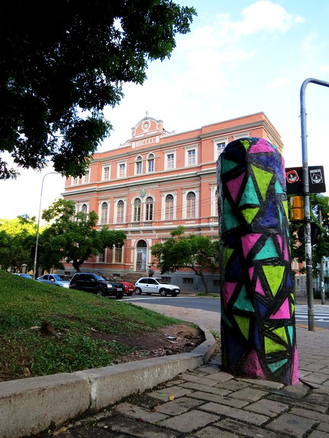 graffiti: intervenção de Eduardo Turski