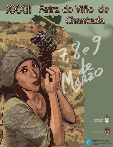 Chantada 2014 - XXXII Feira do Viño - cartel