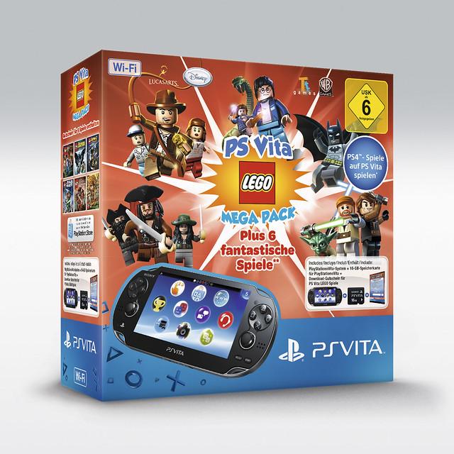 PS Vita LEGO Mega Pack