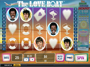 The Love Boat™ Slot Machine Game to Play Free in Playtechs Online Casinos