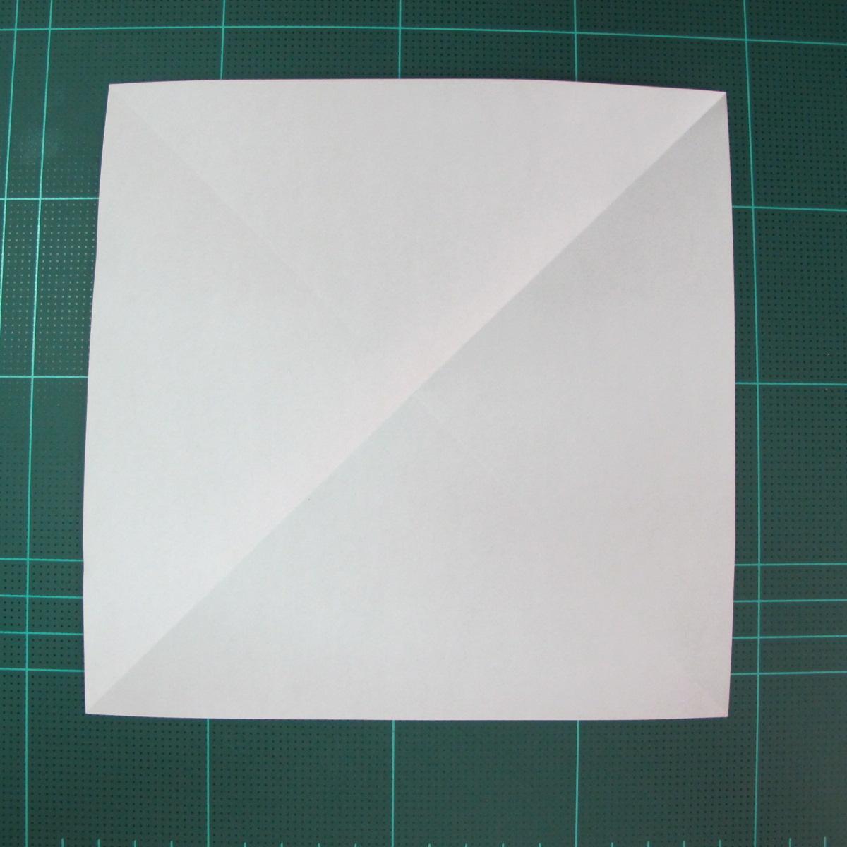 วิธีการพับกระดาษรูปม้าน้ำ (Origami Seahorse) 003