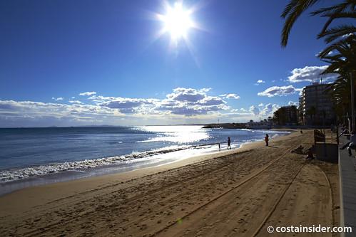 Playa Del Cura Near Torrevieja Spain Water Temperature Photos