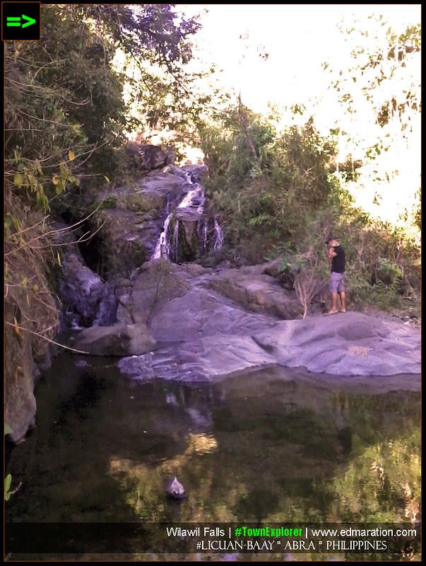 Wilawil Falls in Baay, Abra