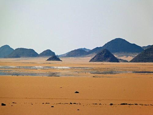 Espejismo en el desierto (Egipto)