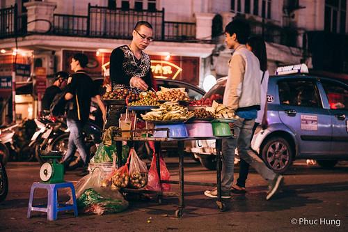 Chợ đêm Đồng Xuân 4/2014