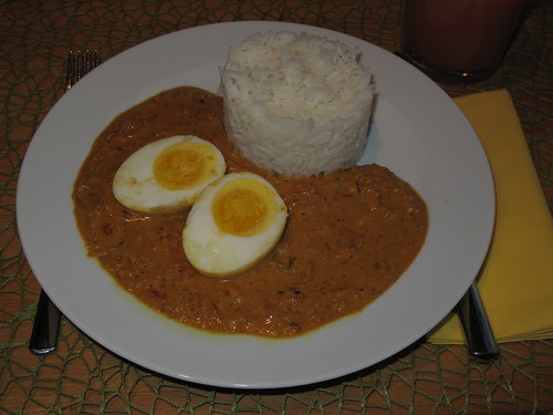 Eier auf indische Art