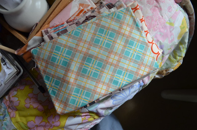 quilt with orla kiely fabric