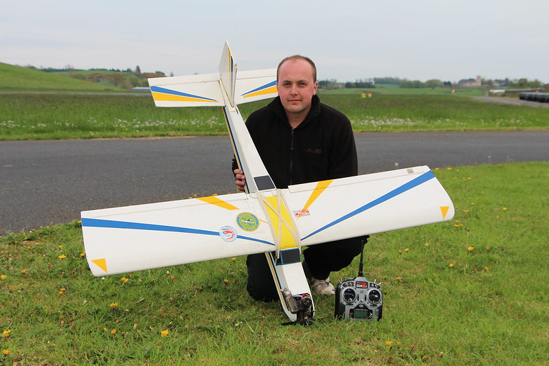 Congratulations to David Trotter on passing his A-Certificate Fixed Wing exam.