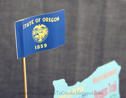 State Float--Oregon Flag