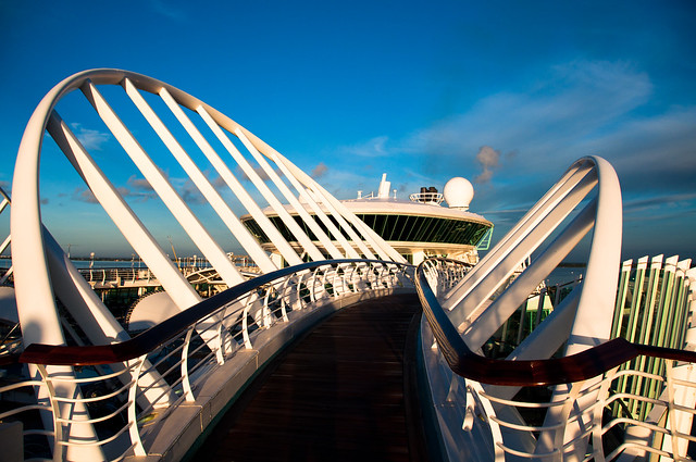 Royal Caribbean Enchantment of the Seas Bridge