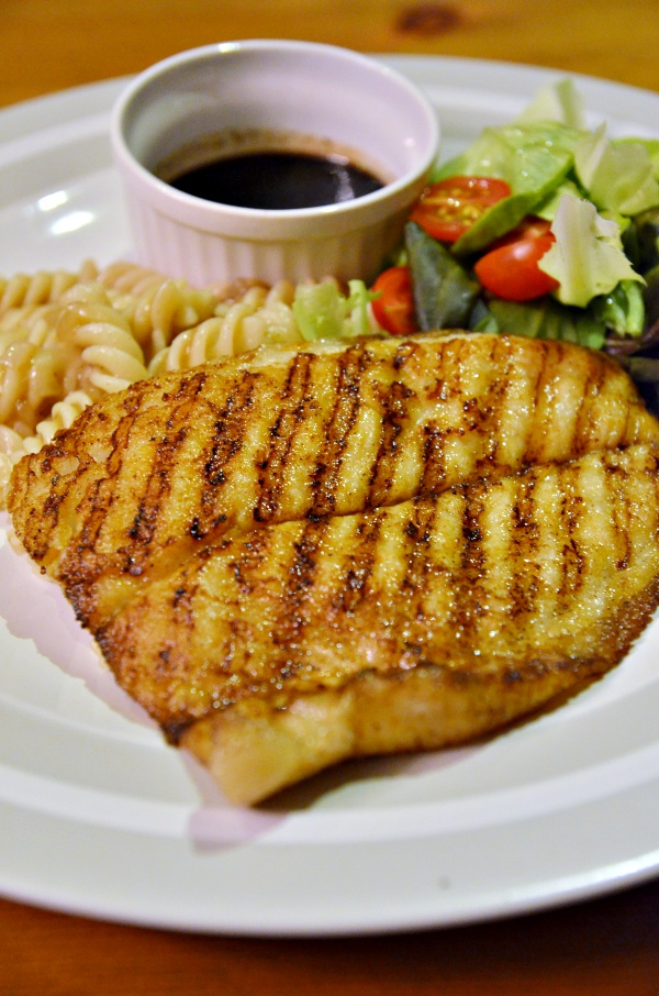 Grilled Dory Fish w Vinaigrette