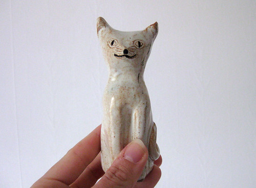 found ceramic cat