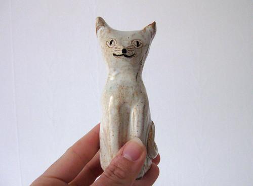 found ceramic cat
