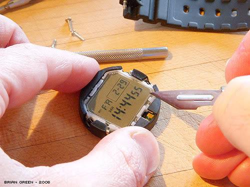 G-Shock Negative Display Conversion Hack