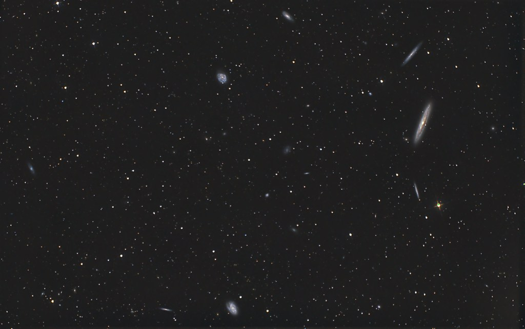 NGC4216 and friends