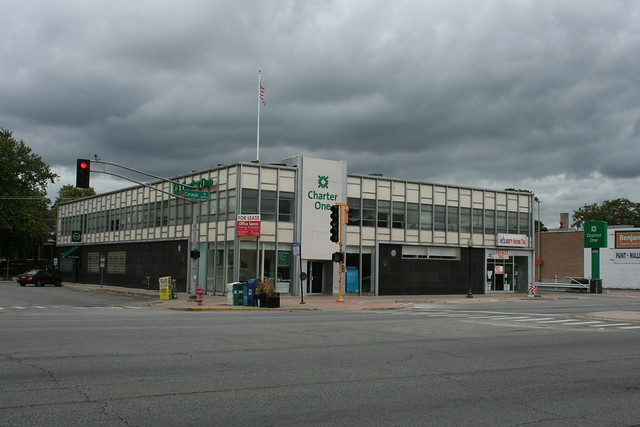 Cermak Road mid-century bank