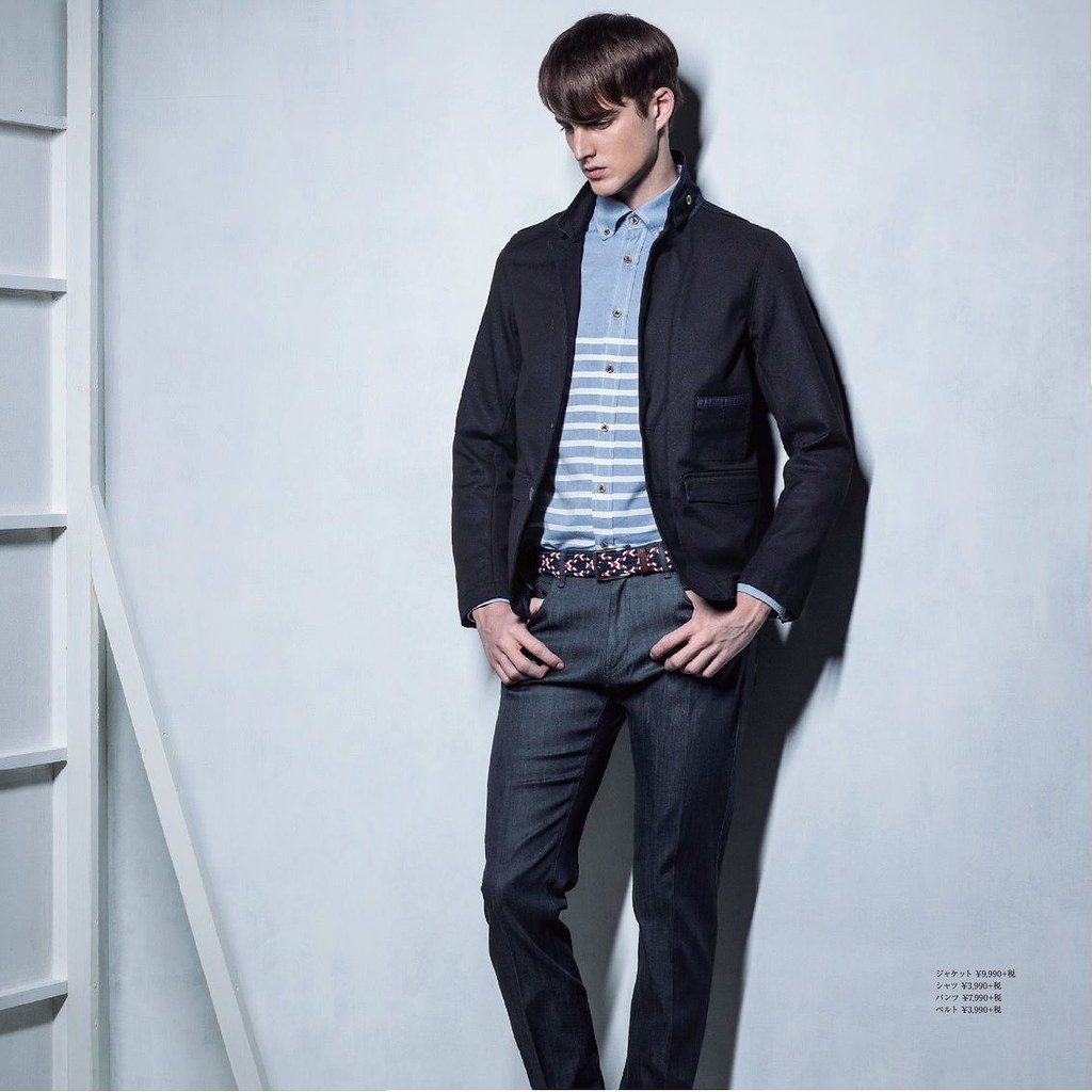 James Smith0193_m.f.editorial Men's Spring Collection 2014