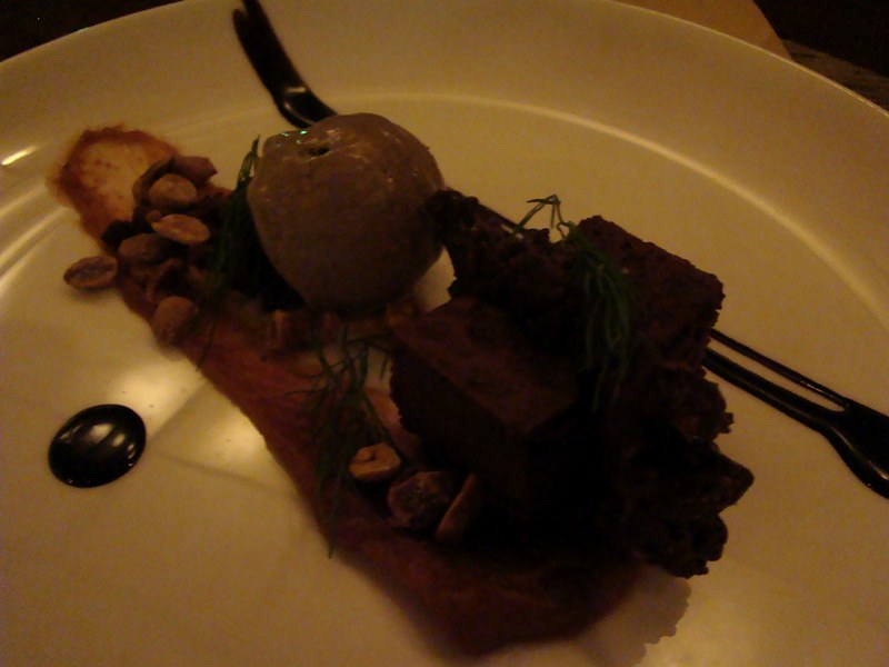 Canoe dessert tasting