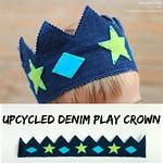 Denim Play Crown
