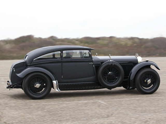 Bentley Speed Six Blue Train 'recreation'