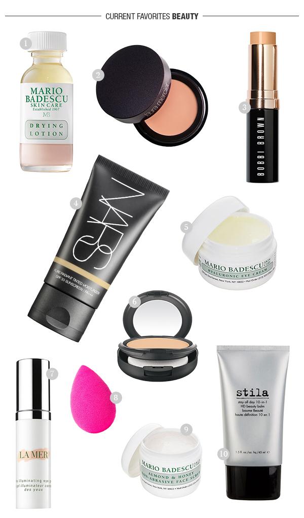 eatsleepwear, nordstrom, beauty, makeup, nars, mario-badescu, La-mer, stila, bobbi-brown, laura-mercier