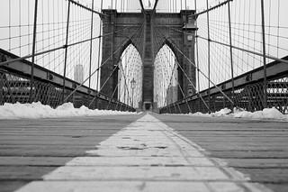 Not A Soul On The Bridge....