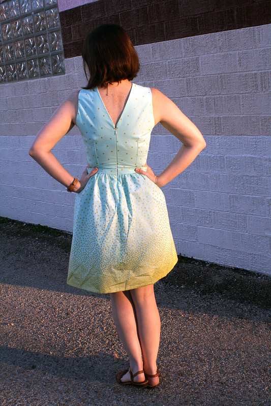 Self Drafted Side Cut Out Dress 2.0
