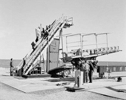 Woomera 4-early missile launch