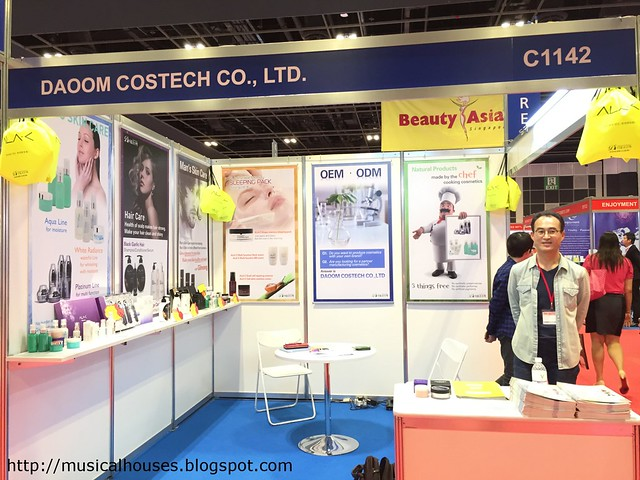 Beauty Asia 2015 Daoom Costech Haircare