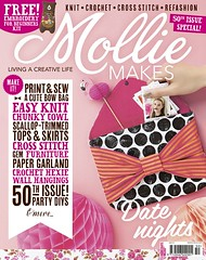 Mollie Makes 50th Issue