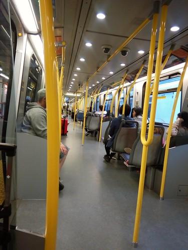 Skytrain Vancouver BC Canada Line